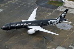 new black air new zealand boeing 787 photo