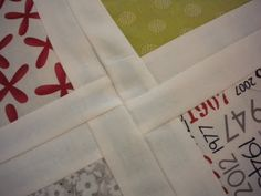 Four Square Layer Cake Quilt tutorial at Moda Bake Shop