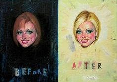 Seyo Cizmic - Take Ten Years off Your Appearance - Oil and acrylic on canvas