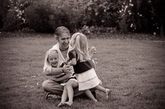 Daddy with little girls #funphotos Photo By Beyond Images by Rosita