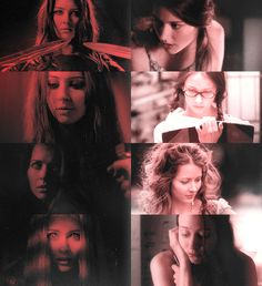 Illyria and Fred. (Angel) Fred was my favorite character in Angel