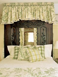 Scalamandre Pillement toile and Turnadot plaid pillow in chartruese. Interior Designer: Phillip Sides, Photo: Tria Giovan
