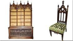 Gótikus bútorok - Bútorstílus Home, Haus, Homes, Houses, At Home
