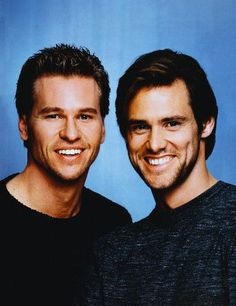Val Kilmer and Jim Carrey