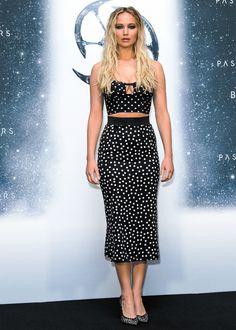 Jennifer Lawrence killed it three times on the red carpet