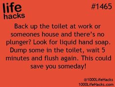 File this under: life hacks. Spring is here, or at least for some of us, and that means lots of cleaning. We've rounded up ten more easy life hacks that aim … Hack My Life, Simple Life Hacks, Useful Life Hacks, Awesome Life Hacks, 25 Life Hacks, Summer Life Hacks, Life Hacks For School, Awesome Stuff, The More You Know