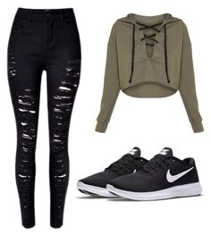 """Untitled #1"" by lara-ribeiro-i on Polyvore featuring NIKE"