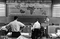 1961 ... Project Mercury Mission Control