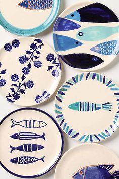 Vernazza Canape Plate - anthropologie.com