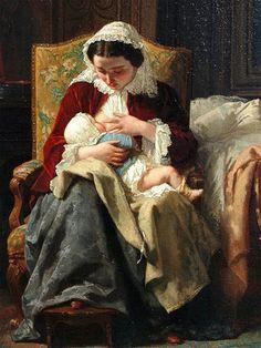 El arte de ser madre: Madre e hijo | Corot