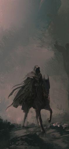 Dark Journey by sinakasra (cropped for detail)