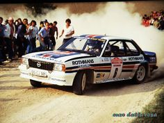 San Remo 1982 - Toivonen Henri - Gallagher FrediconOpel Ascona 400
