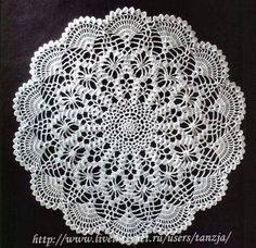 (1 of 2) Pretty Doily * Advanced pattern
