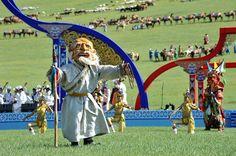 Moğolistan'ın başkenti Ulan Batur'dan...