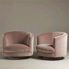 Pink velvet chairs | dress dat home
