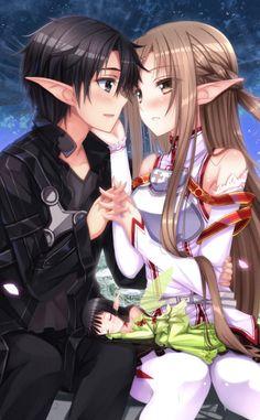 Sword Art Online, Kirito + Asuna, by 刃天