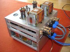 6C33C-B SE Verstaerker von Juergen Buschmann Valve Amplifier, Welding Rigs, Interactive Media, Vacuum Tube, Audiophile, Construction, Technology, Gardening, Music