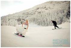 snowboard wedding - Google Search