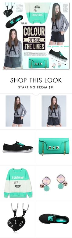 """""""Vipme"""" by mada-malureanu ❤ liked on Polyvore featuring Vans, women's clothing, women, female, woman, misses, juniors and vipme"""