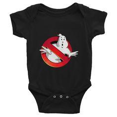 Ghostbusters Movie Infants Onesie #Ghostbusters #Infants #Babies WWW.PHORMULATEES.COM