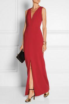 Balenciaga | Stretch-silk gown | NET-A-PORTER.COM