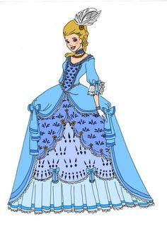 Disney Redesigns~Cinderella by ~Comicbookguy54321 on deviantART