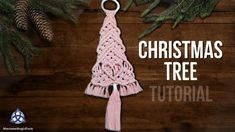 tpys organization and The Most Beautiful Pictures at Pinteres It is one of the best quality pictures that can be presented with this vivid and remarkable picture tpys . The picture called Macrame Christmas Tree Tutorial Ribbon On Christmas Tree, Cool Christmas Trees, Diy Christmas Ornaments, Christmas Decorations, Handmade Ornaments, Tree Decorations, Christmas Trends, Macrame Tutorial, Bracelet Tutorial