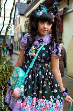 Kawaii Fashion, Lolita Fashion, Photoshoot Inspiration, Style Inspiration, Brolita, Estilo Real, Street Style Blog, Angelic Pretty, Decoden