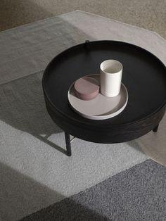 Cylindrical Small Vase / Steingut - H 15 cm x Ø 10 cm - Menu