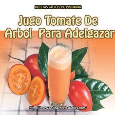 Jugo tomate de árbol para adelgazar✅¿Quieres perder peso rápidamente, especialmente en la zona del abdomen sin pasar hambre? Esta receta para #adelgazar de manera rápida y efectiva