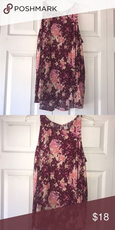 Old navy blouse Never worn. Great parachute blouse Old Navy Tops Blouses