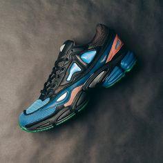 Adidas Raf Simons Ozweego 2 (Black/Blue) $425