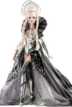 The Sci-Fi Fashion Victim- Goddess of the Galaxy Barbie