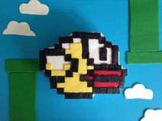 Flappy Bird App Cake!  Learn how to make it here : http://youtu.be/SngwjA0TSOc