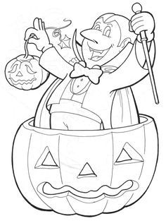halloween coloring pages dracula