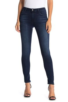 Mid Rise Curvy Skinny Jeans by Joe's Jeans on Curvy Skinny Jeans, Skinny Ankle Jeans, Skinny Legs, Joes Jeans, My Wardrobe, Fashion Outfits, Crop Tops, Denim, Casual