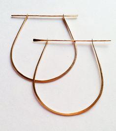 catbird::shop by category::JEWELRY::Earrings::Dagger Earrings, gold fill - NEW!