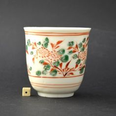 A Rare Chinese Decorated 17th Century Blanc De Chine Beaker | ROBERT McPHERSON ANTIQUES