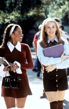 To School Outfit aesthetic Back To School Movies 10 nostalgic back to school movies we love: Clueless Clueless Fashion, 2000s Fashion, Fashion Outfits, Clueless 1995, Cher Clueless Outfit, Clueless Cher And Dionne, Fashion Fall, Dionne Clueless Outfits, Fashion Movies