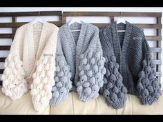 Best 12 Crochet Fashion Lana Knitting Patterns Photo And Video Cute Outfits Pullover Blanket Knitwear Diy Crafts – Page 600949144000127423 – SkillOfKing. Gilet Crochet, Crochet Coat, Crochet Clothes, Knitting Designs, Knitting Projects, Knitting Patterns, Crochet Fashion, Baby Knitting, Diy Clothing