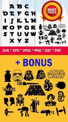 27 Best SVG fonts, SVG Alphabets images in 2019