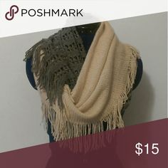 Two tone infinity scarf Super soft Accessories Scarves & Wraps
