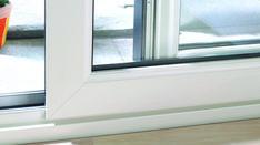 Witte kunststof schuifpui - ALKU duurzame geveltoepassingen Windows, Ramen, Window