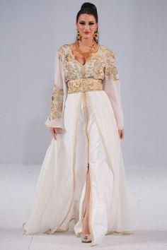 #kaftan #caftan #white #gold