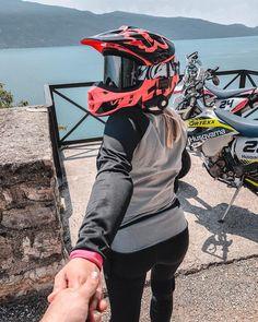 Motocross Couple, Biker Couple, Motorcross Bike, Motorcycle, Bike Photoshoot, Dirt Biking, Motorbikes, Offroad, Quad