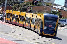 First day testing for new G:Link trams Local Gold Coast News | goldcoast.com.au | Gold Coast, Queensland, Australia