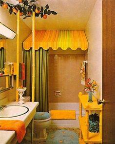 24 Cool Orange Bathroom Ideas 2014