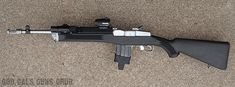 God, Gals, Guns, Grub: Ruger Mini-14 Tactical Rifle - Stainless Steel