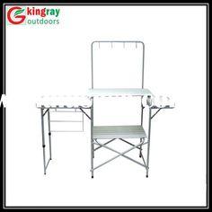 portable camping kitchen table - Camping Kitchen Tables
