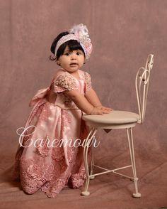 First birthday dress, Custom made dress, Caremour